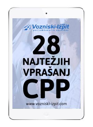 CPP vprašanja in odgovori